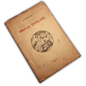 BRZECHWA - OBLICZA ZMYŚLONE wyd. 1926 Debiut książkowy Poety.