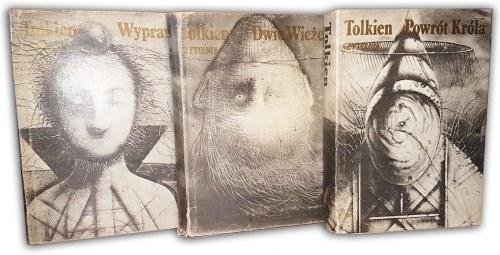 TOLKIEN- WŁADCA PIERŚCIENI T.I-III [komplet] wyd.1981r.