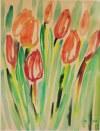 Sylwester Piędziejewski (ur.1966) Tulipany, 2011