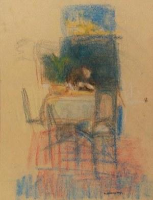 ARTUR MARKOWICZ (1872-1934), Przy stole