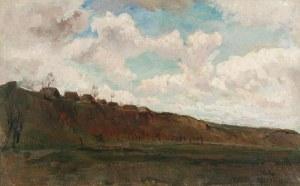 ARTUR MARKOWICZ (1872-1934), Pejzaż wiejski