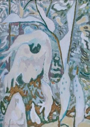 ROMAN SIELSKI (1903-1990), Zaśnieżona gęstwina, 1970