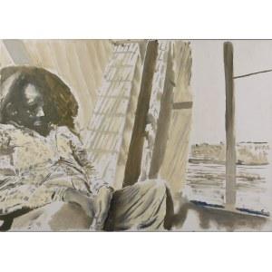 ANDRZEJ CISOWSKI (UR. 1962), Siedząca postać, 2011