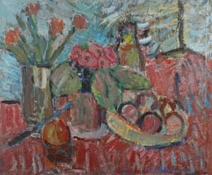 Helena ZAREMBA-CYBISOWA (1911-1986), Martwa natura z tulipanami