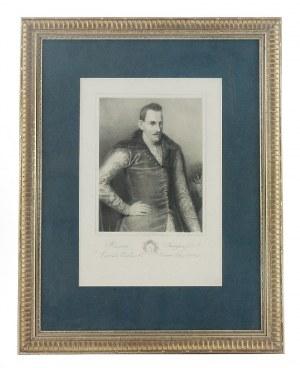 Gerson WOJCIECH (1831-1901), Portret hetmana Romana Sanguszko