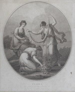 Francesco BARTOLOZZI (1728-1815), Flora [Trzy gracje], 1782
