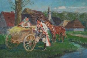 Jan Marian NOWICKI (1876-1955), Zaloty Krakusa