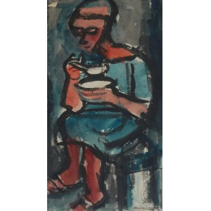 Hieronim SKURPSKI (1914-2006), Posiłek