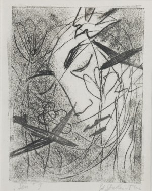 Stefania DRETLER-FLIN (1909-1994), Sen I [czarny]
