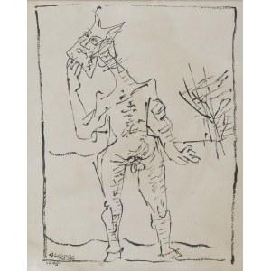 Hieronim SKURPSKI (1914-2006), Faun, 1975