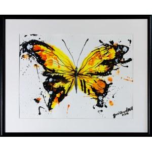 José Angel Hill, Yellow butterfly