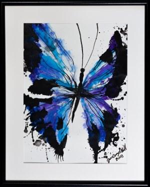 José Angel Hill, Blue butterfly