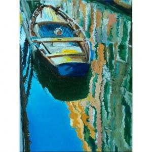 Dariusz Żejmo, Venetian Sketchbook - boat