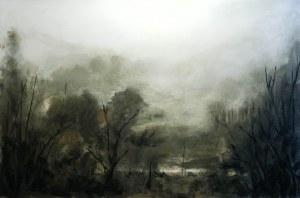 Artur Endler, Mgła-widok z okna, 2018