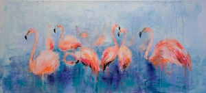 Khrystyna Hladka, Flamingi, 2017