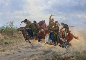 Leonard Winterowski (1886 Kraków – 1927) Potyczka ułanów z bolszewikami, 1925 r.