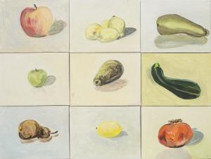 Bogna Gniazdowska (1964), Owoce i warzywa (2013)