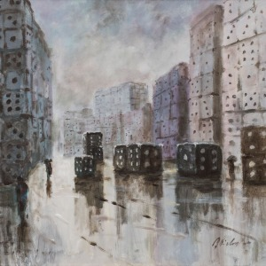 Jerzy Cichecki (1960), Miasto gry (2016)