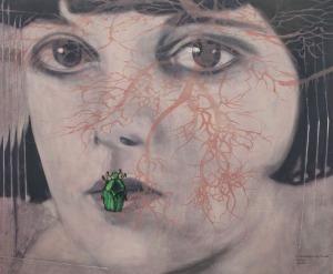 Ewa Żochowska (1976), Louise z cyklu Martwe kwiaty (2015)