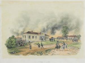 Albrecht ADAM (1786-1862), Dokrzyce na Litwie, 1812