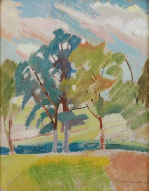 Marian NIŻYŃSKI (1910-1943), Drzewa, 1929