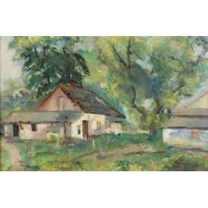 Mieczysław RAKOWSKI (1882-1947), W wiosennej zieleni