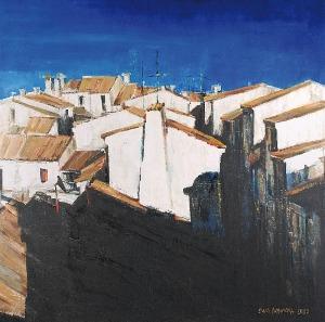 Ewa HOPPE-NOWICKA (ur. 1958), Aigues Mortes, 2007
