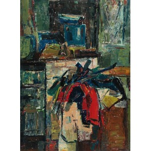 Franciszek CZEKAJ (1923-1979), W pracowni