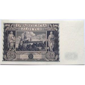 Polska, II RP, 20 złotych 1936, UNC