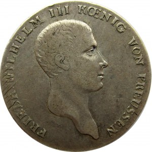 Niemcy, Prusy, Fryderyk Wilhelm III, talar 1814 A, Berlin