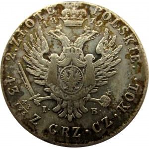 Aleksander I, 2 złote 1819 I.B., Warszawa