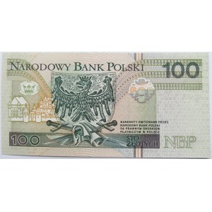 Polska, III RP,100 złotych 1994, seria AA 000...., UNC