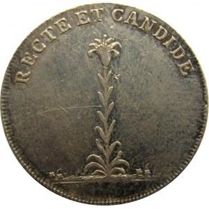 Austria, żeton koronacyjny Marii Ludwiki żony Franciszka II, 1808, srebro
