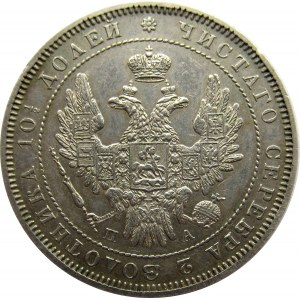 Rosja, Mikołaj I, połtina 1852 PA, Petersburg, ładna