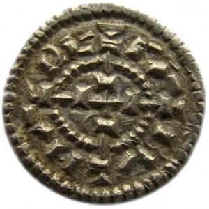 Węgry, Koloman, denar 1 połowa XII wieku, srebro