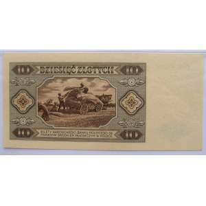 Polska, RP, 10 złotych 1948, seria D, PMG 64
