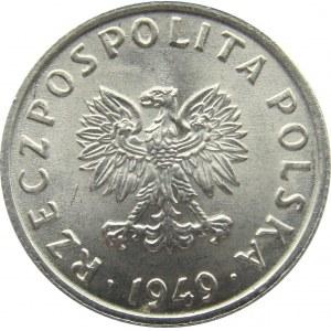 Polska, RP, 5 groszy 1949, UNC
