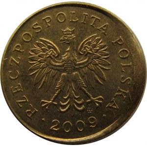 Polska, III RP, destrukt 1 grosz 2009