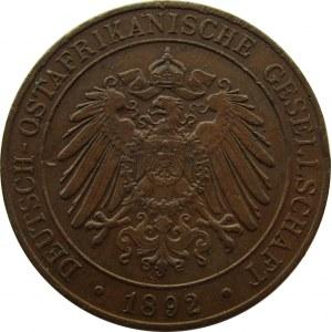 Niemiecka Afryka Wschodnia, 1 pesa 1892, Berlin