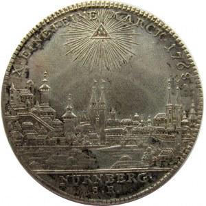 Niemcy, Norymberga, Józef II, talar 1768 S.R. Norymberga, piękny!
