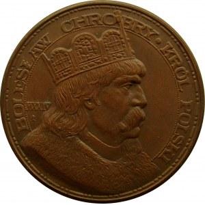 Polska, II RP, medal Bolesław Chrobry - król Polski w 900-tną rocznicę koronacji
