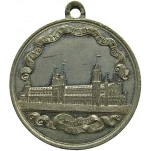 Niemcy, medal Friedrich Ludwik Jahn, Lipsk 1863