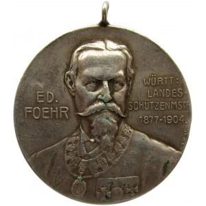 Niemcy, medal strzelca zawodów w Göppingen w 1905 roku, srebro 950