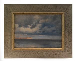 Ferdynand RUSZCZYC (1870-1936), Morze i niebo, 1896
