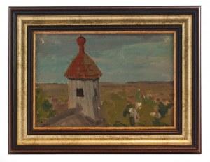 Ferdynand RUSZCZYC (1870-1936), Sygnaturka kościoła w Wiszniewie, 1904
