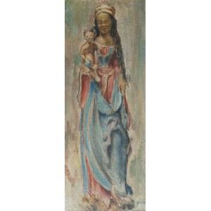 Jan RASZKA (1871-1945), Madonna z Dzieciątkiem