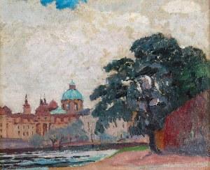Ignacy PINKAS (1888-1935), Widok na Pragę i Wełtawę