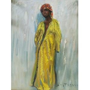 Adolf (Abraham) BEHRMANN (1876-1943), Piękność z Marrakeszu, 1934
