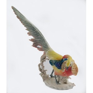 Porzellanfabrik Karl Ens, Egzotyczny ptak (bażant?)