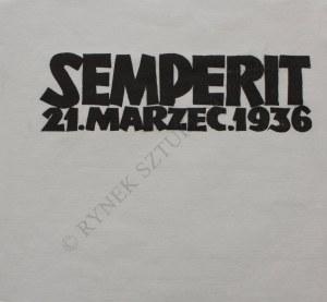 "Jonasz Stern (1904-1988), Cykl ""Semperit. 21. Marzec 1936"""